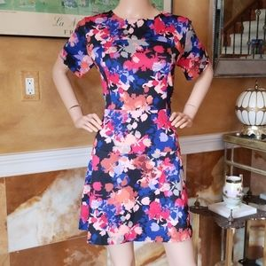 Nordstrom CeCe Floral Size 14 Dress